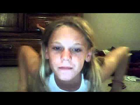 ripped 12 year old girl does 100 sit ups 50 crunches and a 1 minute plank