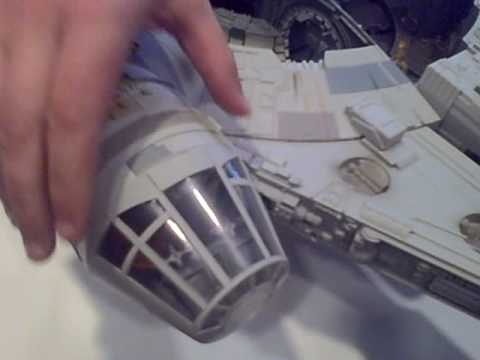 First Peek at Hasbro's Relaunched Millennium Falcon
