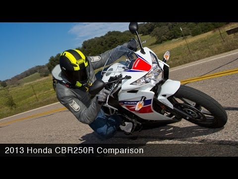 2013 Honda CBR250R Comparison Review
