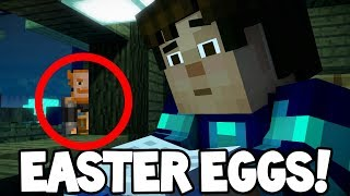 Minecraft Story Mode Season 2 Hidden Easter Eggs Episode 4