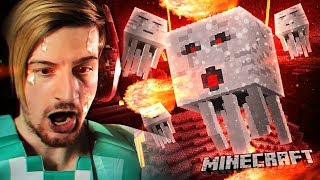 WE FINALLY FOUND A NETHER FORTRESS. (in diamond armor btw) || Minecraft (Part 7)