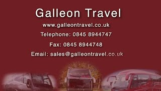 preview picture of video 'Galleon Travel | Luxury Coach Hire | Harlow, Essex'
