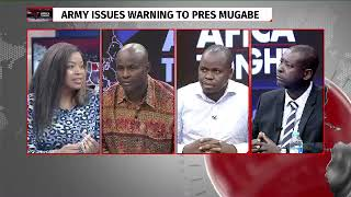 Temba Mliswa and Tajamuka commend on millitary coup d `etat in Zimbabwe
