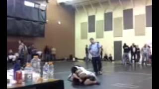 Julian dunlap CMJH 3rd match