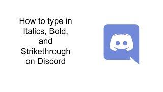 Strikethro Discord Text Formatting Guide – Shredz