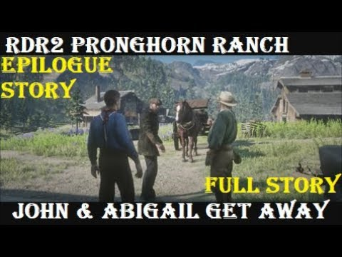 Download RDR2 Stories: Pronghorn Ranch (All Cutscenes) John Marston Leaves Gang Mp4 HD Video and MP3