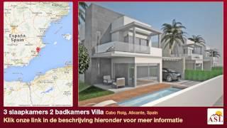 preview picture of video '3 slaapkamers 2 badkamers Villa te Koop in Cabo Roig, Alicante, Spain'