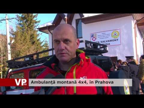 Ambulanţă montană 4×4, în Prahova