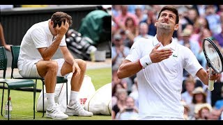 Roger Federer - The Most Heartbreaking Trilogy Of His Career ft. Novak Djokovic