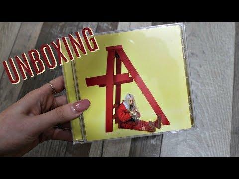 "Billie Eilish: ""Don't Smile At Me"" EP CD UNBOXING"