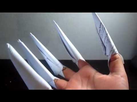 How to Make DRAGON CLAWS & PAPER NINJA STAR SHURIKEN - ORIGAMI ...   360x480