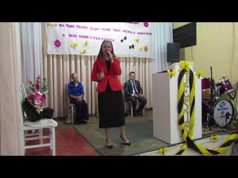 Pregadora Rosane Paim(Em Augusto Pestana-Rs)Igreja Debaixo da Promessa de Deus.