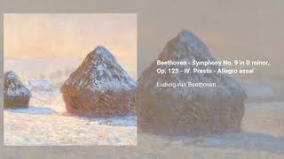 Beethoven Symphony no  9 in D minor, Op  125 - Download free