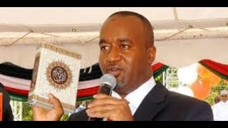 Ali Hassan Joho sworn in for his second term as Mombasa County Governor