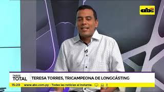 Paraguaya se consagra tricampeona de Longcásting