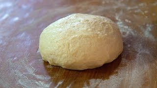Quick and Easy Homemade Pizza Dough | SAM THE COOKING GUY recipe