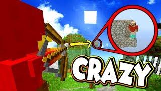 CRAZY ONE SHOT IN SKYWARS !! - Minecraft Team Skywars