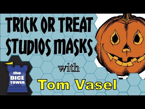 Dice Tower Reviews: Trick or Treat Halloween Masks