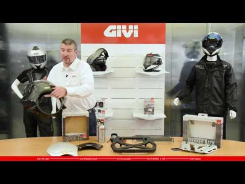 La nouvelle gamme 2016 d'accessoires et casques GIVI