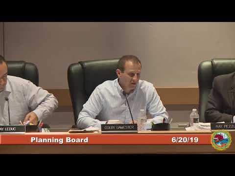 Planning Board 6.20.2019
