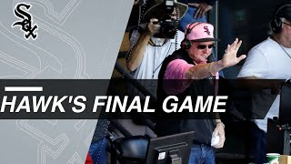 Hawk Harrelson says goodbye with final game - Video Youtube