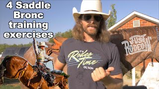 4 must do exercises for Saddle Bronc Riding - Just Rodeoing 5