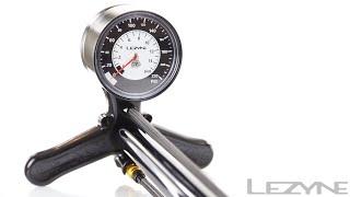 Lezyne CNC Floor Drive - The Ultimate High Pressure Floor Pump