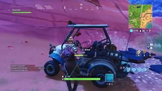 First Look at Golf Cart (ATK) in Fortnite Battle Royale | Fortnite Season 5| All Terrain Kart