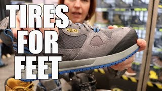 KEEN Utility Work Boots - World Of Concrete 2018