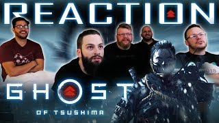 Ghost Of Tsushima E3 2018 Trailer REACTION!!