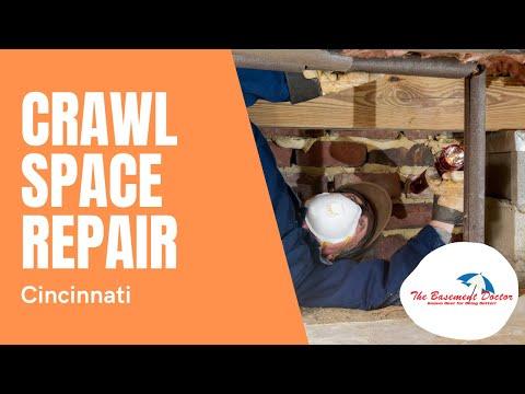 Crawl Space Repair Ad | The Basement Doctor of Cincinnati