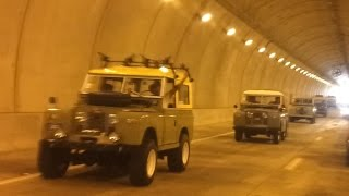 preview picture of video 'Land Rover Series en Tunel de Maunabo Puerto Rico'