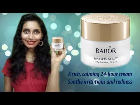 Babor Skinovage Daily Calming Cream   Review   SahiJeeth