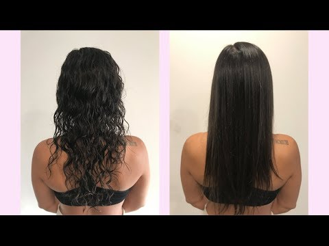 How To Get Glass Hair With Color Wow Dream Coat