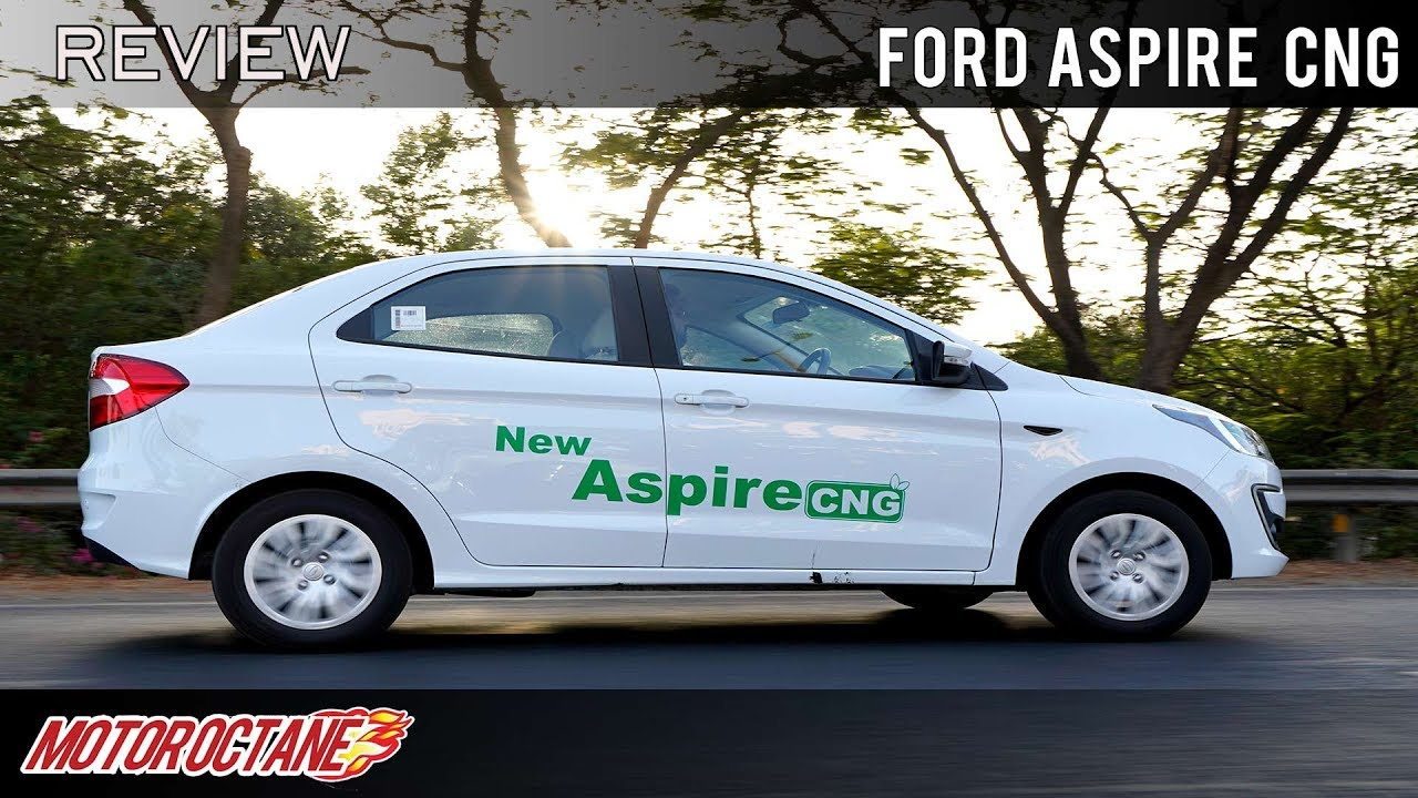 Motoroctane Youtube Video - Ford Aspire CNG Review | Hindi | MotorOctane