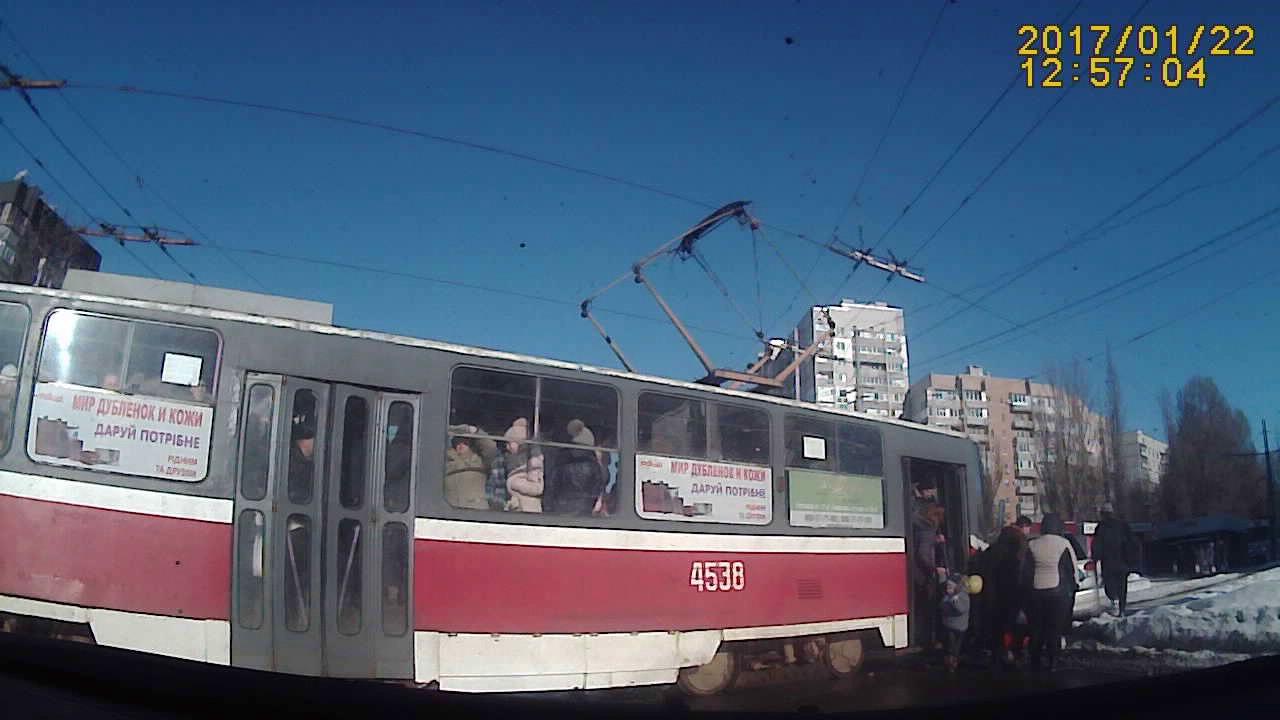 Матиз vs Трамвай