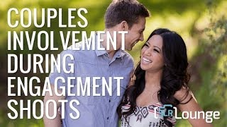 Couples Involvement During Engagement Shoots - Natural Light Couples Photography DVD - E402