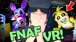 FNAF VR: Help Wanted! NEW LORE, NEW SECRETS... I'm so done!  (Five Nights at Freddy's: Help Wanted)