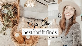 2019 Top 10 BEST Thrifted Home Accents