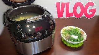 VLOG и рецепт для ЛЕНТЯЕВ: грибной суп в мультиварке #рецепты для мультиварки