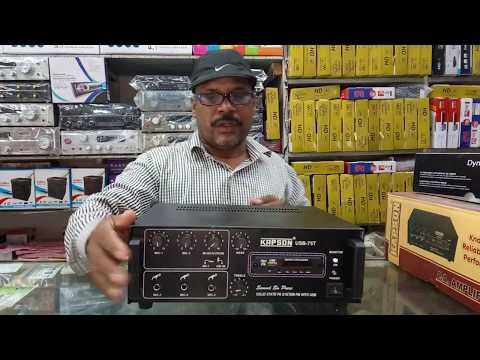 Download BHARAT ELECTRONICS BEST AMPLIFIER OF KAPSON 100 AND 75 WATTS ,BEST MICS OF BETA,***T&C HD Video