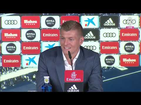 TONI KROOS SIGNS NEW CONTRACT | FULL PRESS CONFRENCE | Wearemadrid