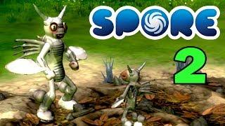 ч.02 Прохождение игры SPORE™ Anthology - Существо Клава