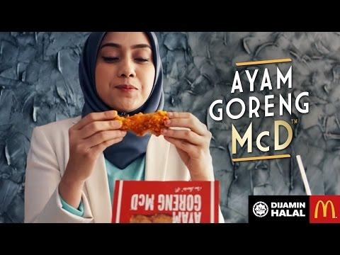DAH RASA AYAM GORENG McD™?