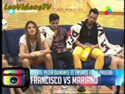 Francisco Vs Mariano Discucion en el vivo parte 1 GH 2015 #GH2015 #GranHermano