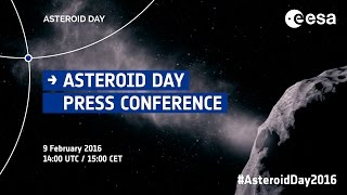 Asteroid Day 2016 - Press Conference