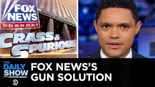 While legislators try to figure out which laws will curb future mass shootings, Fox News anchors are spending most of their time telling people that shootings have nothing to do with guns.   Subscribe to The Daily Show: https://www.youtube.com/channel/UCwWhs_6x42TyRM4Wstoq8HA/?sub_confirmation=1   Follow The Daily Show: Twitter: https://twitter.com/TheDailyShow Facebook: https://www.facebook.com/thedailyshow Instagram: https://www.instagram.com/thedailyshow  Watch full episodes of The Daily Show for free: http://www.cc.com/shows/the-daily-show-with-trevor-noah/full-episodes  Follow Comedy Central: Twitter: https://twitter.com/ComedyCentral Facebook: https://www.facebook.com/ComedyCentral Instagram: https://www.instagram.com/comedycentral  About The Daily Show: Trevor Noah and The World's Fakest News Team tackle the biggest stories in news, politics and pop culture.  The Daily Show with Trevor Noah airs weeknights at 11/10c on Comedy Central.