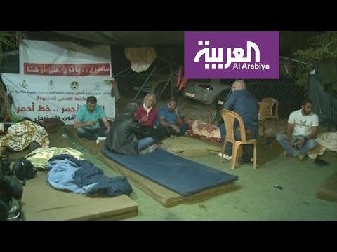 العرب اليوم - شاهد: بطل فرنسي أميركي يعود إلى الاعتصام في الخان الأحمر