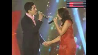 KC Concepcion And Paulo Avelino Duet At Kapamilya Thank You Trade Show