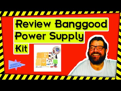Review: - Banggood DIY LM317 Adjustable DC Power Supply Kit With Voltage Meter